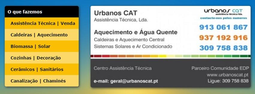 Urbanos CAT Assistencia Técnica Caldeiras
