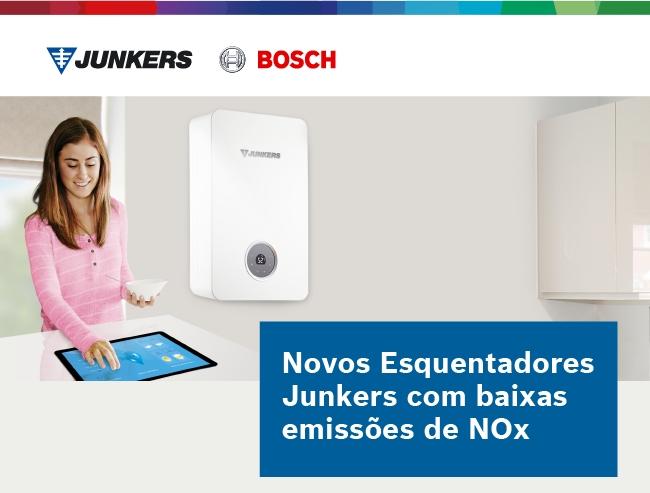 JUNKERS Esquentadores baixas emissões NOx